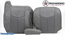 2005 GMC Yukon Denali -PASSENGER Side Complete Leather Seat Covers 2-Tone Gray