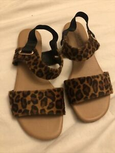 Size 5 M&S Leopard Print Sandals