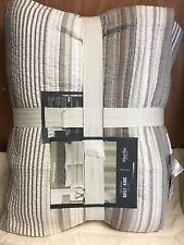 Martha Stewart Collection Quilt King Garrison Stripe , Original Price 260.00