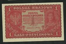 Pologne : 1 Marka 1919 SPL
