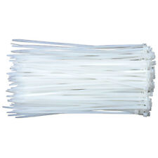 "8"" Self Locking Cable Ties with Nylon Cable Ties Strap 20000 Pack Zip Ties White"