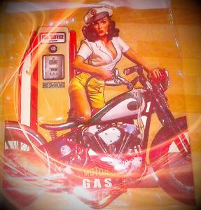 Wandschild Eisen Always on Call H.33x25cm Vintage Geschenk Wand Deko Reklame
