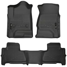 Husky Liners WeatherBeater Floor Mats-3pc- 99211- Suburban/Yukon XL 15-17- Black