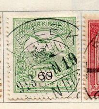Hungría 1900 antiguo problema Fine Used 60f. 104374