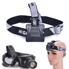 1Pc Elastic Headband Helmet Strap Mount Head Strap For Bike light Headlamp Band+