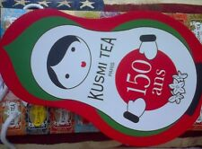 Kusmi Tea Coffret Green Doll 150 Years Gift Set: Mint& Strawberry Green Teas