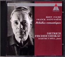 FISCHER-DIESKAU: Melodies romantique BIZET FAURE FRANCK GOUNOD SAINT-SAENS CD
