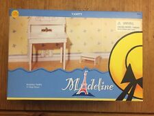 Madeline 8� Doll Bathroom Vanity & Step Stool 2002 New & Rare