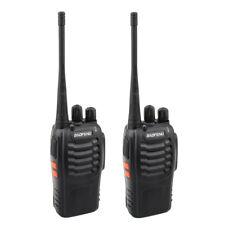 2x Baofeng BF-888S UHF 400-470MHz 5W Handheld Two-way Ham Radio HT Walkie Talkie
