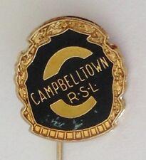 Campbelltown RSL Bowling Club Pin Badge Lawn Bowls (L13)