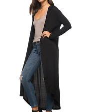 Fashion Women's Knit Hooded Sweater Long Sleeve Casual Cardigan Coat Outwear Top