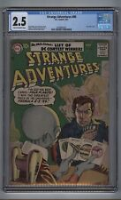 Strange Adventures 80 (CGC 2.5) T-O/W pages; Grey tone cover; DC; 1957 (c#16818)