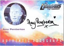 DC Legends of Tomorrow Auto Autograph Card Amy Pemberton Gideon AP1 SSP