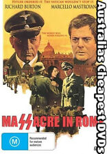 Massacre In Rome DVD NEW, FREE POSTAGE WITHIN AUSTRALIA REGION ALL