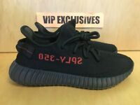 Adidas Yeezy 350 V2 Core Black Red 2017 Bred Boost Low SPLY Kanye West CP9652