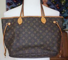 Authentic Louis Vuitton Neverfull GM Monogram Tote Shoulder Bag