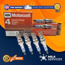 pack of 6 Ford Motorcraft SP-493 AGSF-32PM Spark Plugs V8 4.6L 5.7L - V6 3.0L
