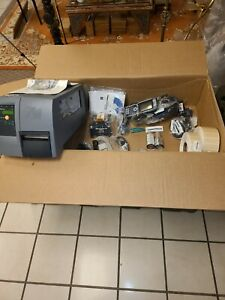 New Intermec EasyCoder PM4i Barcode Printer Bundle & ck61ni handheld & holder