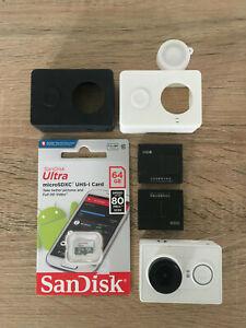 Genuine Xiaomi Yi WiFi Sport Action Camera Cam 1080P 16MP + case + 64GB microSD