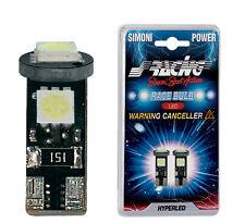 ALFA 147 2a serie LUCI LAMPADINE LED POSIZIONE SUPERBIANCHE SIMONI RACING