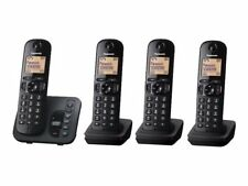 Panasonic KX-TGC224E Digital Cordless Quad Phone Set with Answering System