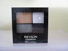 Revlon Colorstay Quad Sombra de Ojos Paleta Sombra 584 surrealista Nuevo