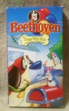 BEETHOVEN St. Bernard Dog Animated Series MR HUGGS WILD RIDE Vhs Video Tape 1996