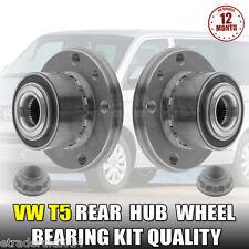 2 X VW VOLKSWAGEN T5 TRANSPORTER REAR HUB WHEEL BEARINGS ALL MODELS QUALITY PAIR