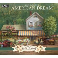 2019 American Dream Wall Calendar, Lang Folk Art by Lang Companies