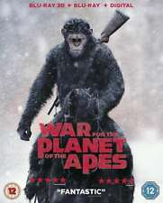 WAR FOR THE PLANET OF THE APES 3D BD+DHD [Blu-ray] [2017] DVD New Matt Reeves Ga