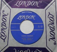 PATRICK JORDAN & SYLVIE VARTAN Panne d'essence / J'aime ta.. CANADA ORIG 1961 45