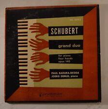 schubert lp grand duo-for piano four hands op 140 paul badura-skoda jeorg demus
