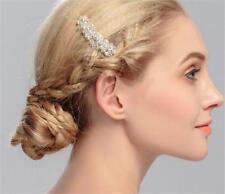 Perles cheveux peigne strass mariée coiffure cristal accessoires de mariée 1 pièces