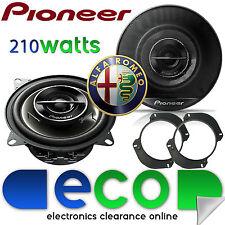 "PIONEER Alfa Romeo GTV 1995-2001 5.25"" 13cm 210 watts Front Door Car Speakers"