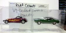 Road Champs 1969 Dodge Super Bee and Plymouth Prowler 2 cars! NEW in box