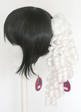 18'' Ringlet Curly Pony Tail Clip Snow White Cosplay Lolita Wig Clip Only NEW
