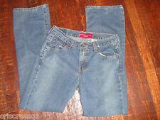 LEVI's 515 * NOUVEAU Bootcut STRETCH Jeans * Mid Rise * Medium Wash * sz 6 * EUC