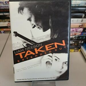Taken Extended Cut Liam Neeson 60% OFF 4+ DVD $2 Each