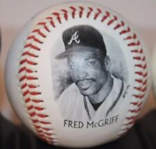 Fred McGriff Atlanta Braves 1995 World Champion Legends Fotoball Burger King