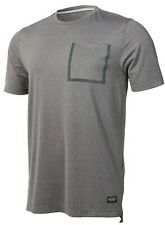 NWT - REDBULL Men's 'SIGNATURE SERIES' Grey Heather REFLECTIVE S/S SHIRT - XL