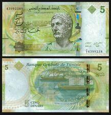 Tunisia 5 DINARS 2013 P 95 UNC OFFER !