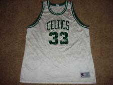 Vintage Champion White Larry Bird Boston Celtics Jersey 52 SUPER RARE MINT