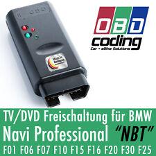 OBD TV/DVD Freischaltung VIM für BMW Navigation Professional NBT F-Serie