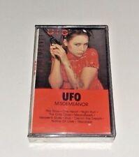 UFO Misdemeanor new sealed cassette tape rare