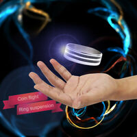 Magic Ring Tricks Play Ball Floating Effect of Invisible Magic Props x4R