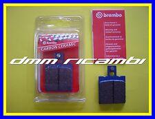 Pastiglie freno posteriori BREMBO DUCATI MONSTER 600 95 Carbon Ceramic 1995