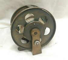 Antique Expert Brass Fly Casting Reel 1891 patent