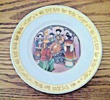 "Hans Christian Anderson Plate ""The Nightingale"" Royal Copenhagen 7.25"" diam."