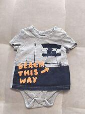 Gap Shirt Bodysuit  Size 6-12 Month Soft Cotton Boys Beach