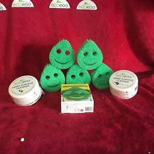 2 Eco Egg Hard Surface Cleaners  and 6 Eggsterminator Sponges